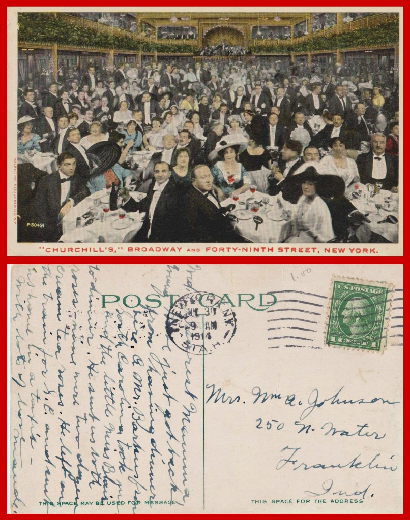 1914 DINNER collage