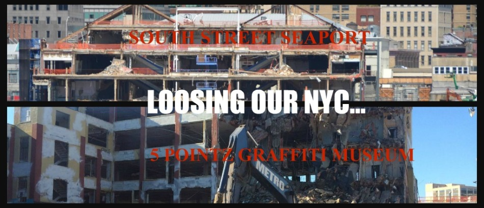 LOOSING OUR NYC